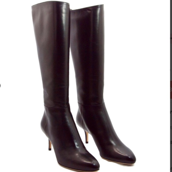 4429ee5e56a AUTHENTIC Jimmy Choo Dk. Brown Leather Boots NWT
